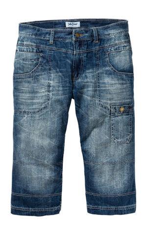 3/4-ové džínsy Regular Fit Straight bonprix