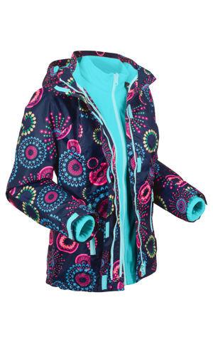 3v1 funkčná bunda - outdoor s kapucňou bonprix