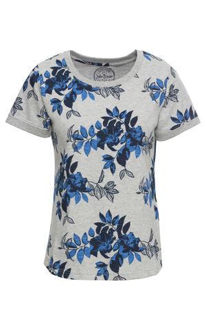Bavlnené tričko s potlačou, krátky rukáv bonprix