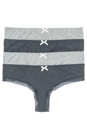 Brazílske nohavičky (4 ks) bonprix