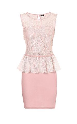 Čipkované šaty bonprix