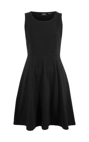 Džersejové šaty bez rukávov bonprix