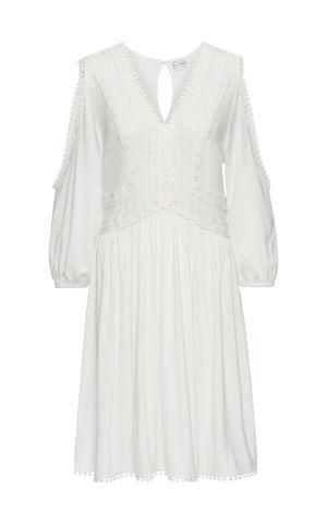 Džersejové šaty s čipkou bonprix