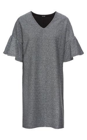 Džersejové šaty s leskom bonprix