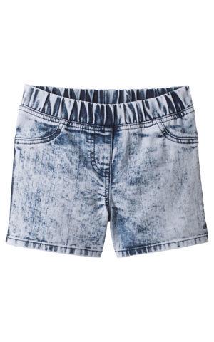 Džínsové šortky, moonwashed bonprix