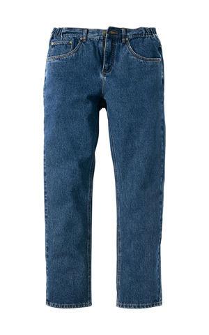Džínsy, s bočným elastickým pásom, Classic Fit Straight bonprix