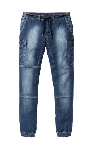 Džínsy Slim Fit Tapered bonprix