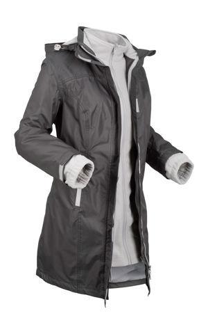 Funkčná bunda 3 v 1 s kapucňou bonprix