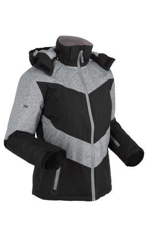 Funkčná outdoorová bunda, s kapucňou, vatovaná bonprix