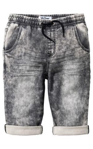Jemné džínsové bermudy bonprix