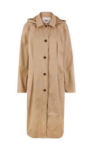 Kabát s kapucňou bonprix