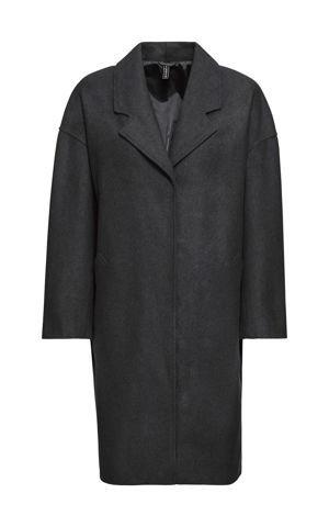 Kabát vo vlnenom vzhľade bonprix