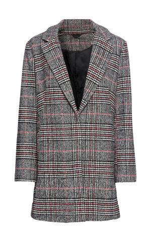 Károvaný kabát bonprix