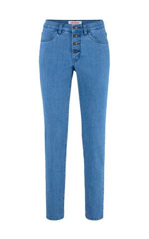 Komfortné strečové džínsy Slim Fit bonprix