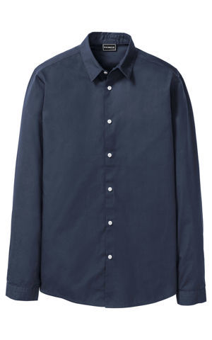 Košeľa s dlhým rukávom Slim Fit bonprix
