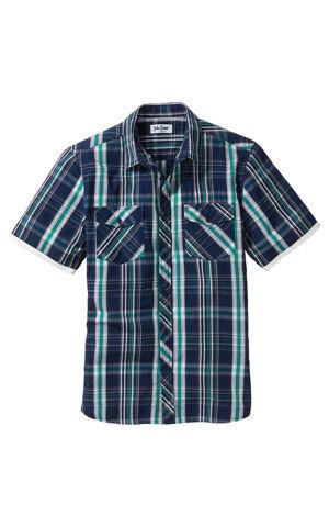 Košeľa s krátkymi rukávmi Regular Fit bonprix