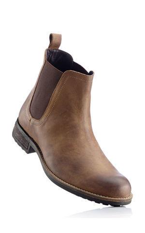 Kožené chelsea topánky bonprix