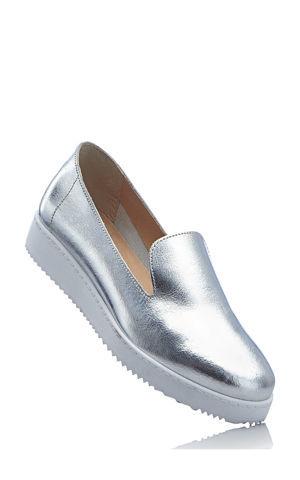 Kožené topánky bonprix