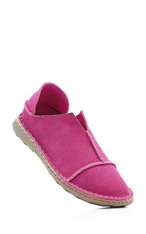 Kožené topánky slip in bonprix