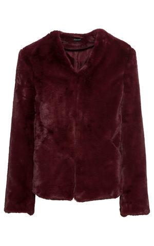 Krátka bunda z umelej kožušinky bonprix