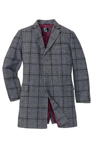 Krátky kabát s vlnou bonprix