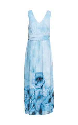 Kvetované letné šaty bonprix