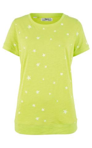 Ľahké bavlnené tričko, polovičný rukáv bonprix
