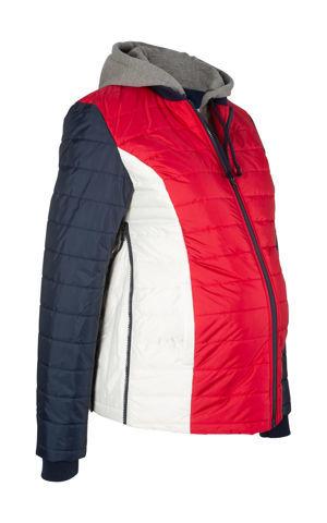 Materská prešívaná bunda s teplákovými časťami bonprix