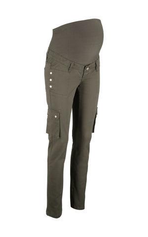 Materské nohavice, rovné, s kapsáčovými vreckami bonprix