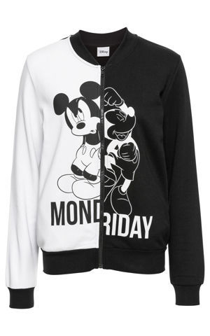 "Mikina College ""Mickey Mouse"" bonprix"