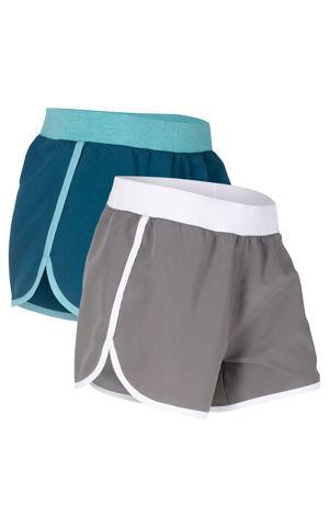 Mikrovláknové športové šortky (2 ks) bonprix