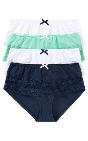 Nohavičky (4ks v balení) bonprix