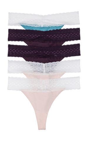 Nohavičky s čipkou bonprix