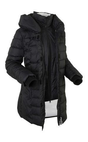 Outdoorová bunda, 2v1 vzhľad, prešívaná bonprix