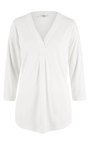 Padavé tričko s 3/4-ovým rukávom, modal mix bonprix