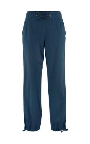 Plátené nohavice s vrúbkovaným pásom bonprix