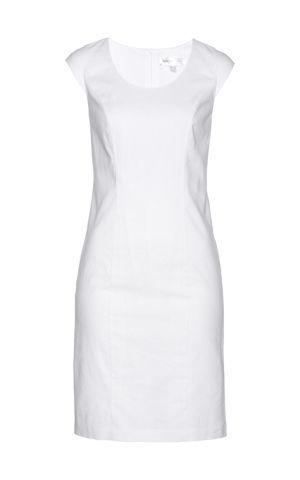 Plátené púzdrové šaty bonprix
