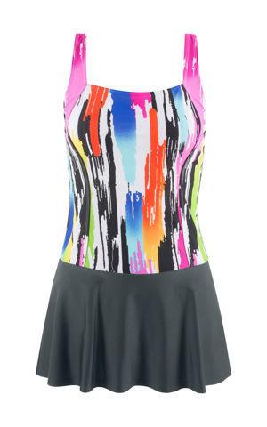 Plavkové šaty bonprix