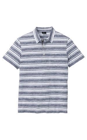 Polo tričko, pásikované, krátky rukáv bonprix