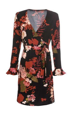 Potlačené šaty s kvetmi bonprix