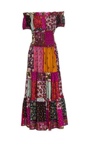 Šaty s Carmen výstrihom bonprix