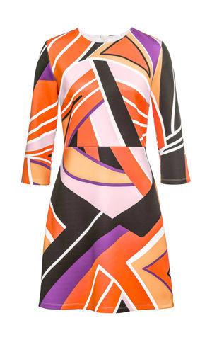 Šaty s grafickou potlačou bonprix