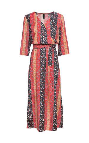Šaty s kvetovaným vzorom bonprix