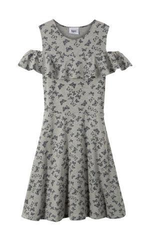 Šaty s volánom bonprix