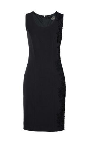 Shape šaty s čipkou bonprix