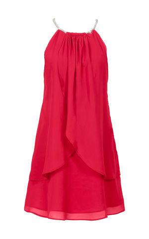 Šifónové šaty s náhrdelníkom bonprix