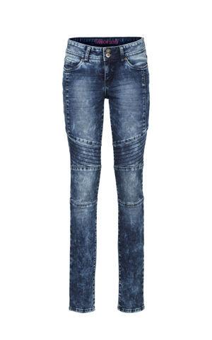 Skinny džínsy s deliacimi švíkmi bonprix