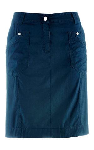Strečová kapsáčová sukňa bonprix