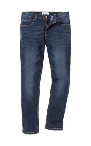 Strečové džínsy Slim Fit Straight bonprix