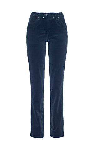 Strečové kordové nohavice bonprix